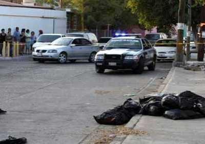 墨西哥发现14具被肢解尸体 陈群丹墨西哥肢解