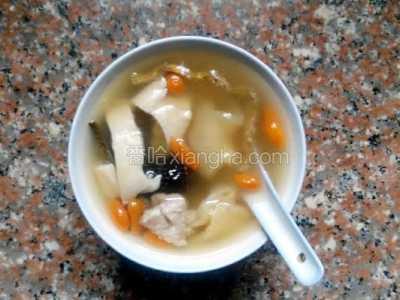 花胶响螺猪肉汤的做法 响螺肉